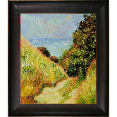 Monet Chemin De La Cavee Pourville Canvas Art by Tori Home