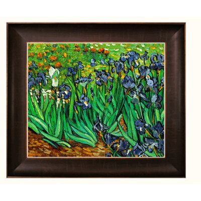 Van Gogh Irises Canvas Art by Tori Home