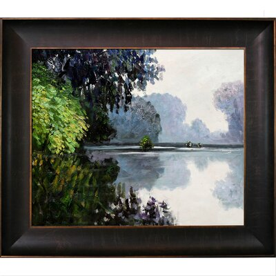 Tori Home Monet Morning on the Seine Near Giverny Canvas Art