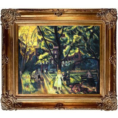 Gramercy Park Canvas Art by Tori Home