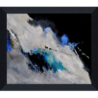 Ledent - Abstract 1811802 Framed, High Quality Print on Canvas by Tori Home