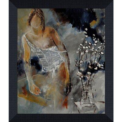 Ledent - Deshabille 66452 Framed, High Quality Print on Canvas by Tori Home