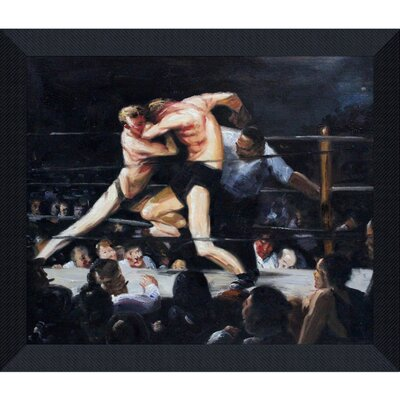 Bellows by Stag Night at Sharkey's Framed Hand Painted Oil on Canvas by Tori Home ...