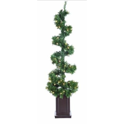 Helix Spiral Potted Artificial Topiary Tree by Tori Home