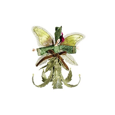 Princess Garden and Lily Fairy Glitter Christmas Ornament by Tori Home