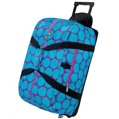 Wildkin Good Times Big Dots Rolling Duffel Bag