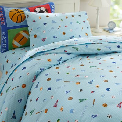 Olive Kids Game On Duvet Cover by Wildkin