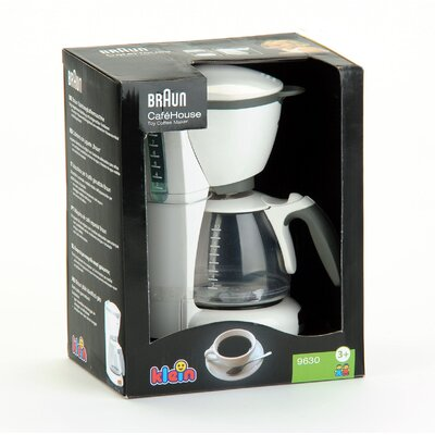 Theo Klein Braun Toy Coffee Maker & Reviews Wayfair