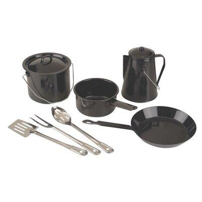 Enamel 8-Piece Cookware Set  by Coleman