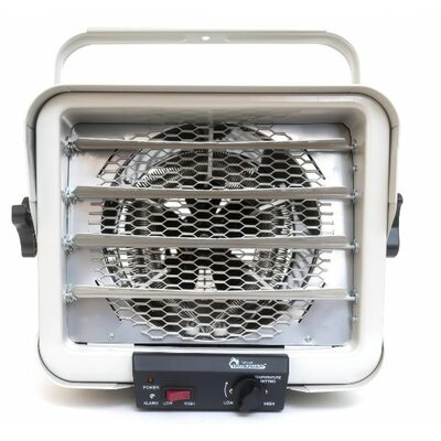 6,000 Watt Wall Mounted Electric Fan Compact Heater by Dr. Infrared Heater