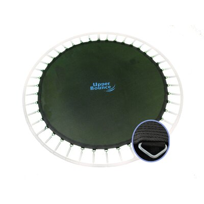 """Upper Bounce Jumping Surface for 12' Trampoline with 72 V-Rings for 5.5"""" Springs"""