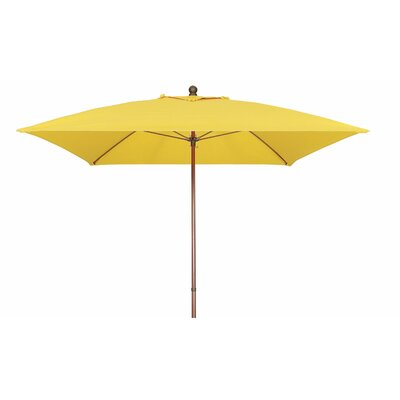 6' Prestige Square Market Umbrella by Fiberbuilt