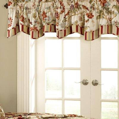 """Charleston Fresh Chirp 50"""" Curtain Valance Product Photo"""
