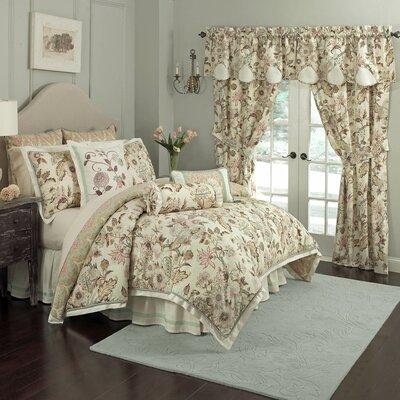 Graceful Garden 4 Piece Comforter Set by Waverly
