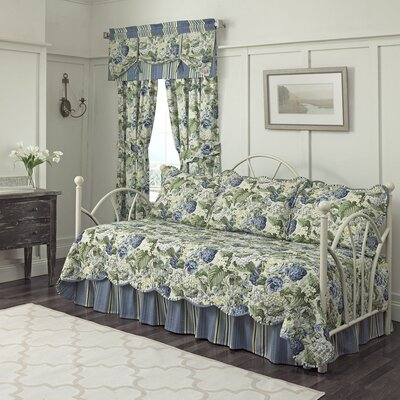 Floral Flourish Daybed Quilt Bedding Collection by Waverly