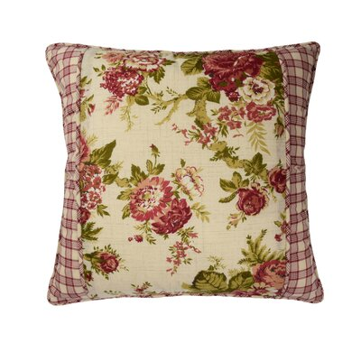 Norfolk Cotton Throw Pillow by Waverly