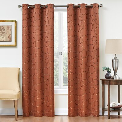 Meridian Blackout Single Curtain Panel Product Photo
