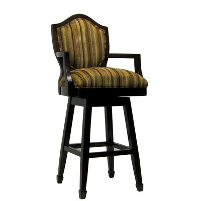 "Royal Manufacturing Inc. 30"" Swivel Bar Stool with Cushion"