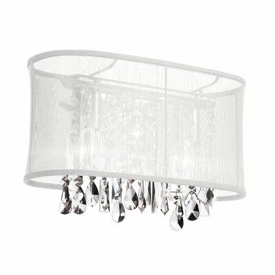 Dainolite Crystal 2 Light Bath Vanity Light