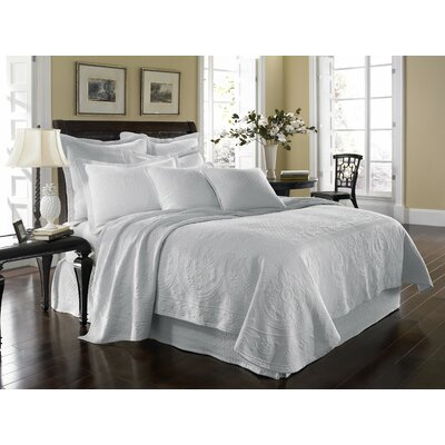 King Charles Matelasse Coverlet Collection by Historic Charleston