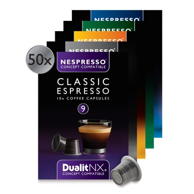 Coffee Capsule Variety by Dualit