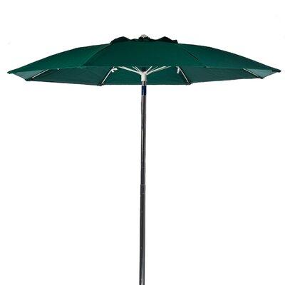 Frankford Umbrellas 7.5 ft. Diameter Fiberglass Commercial Grade Beach Umbrella,  Aluminum Center Pole with Tilt, with Vent, No Valance