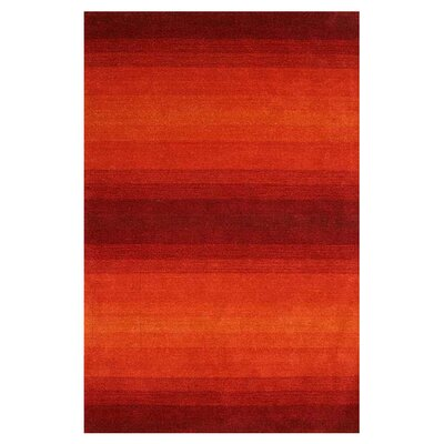 Rizzy Home Galaxy Red Rug