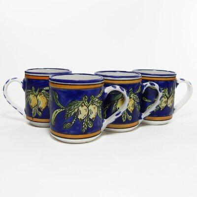 le souk ceramique sabrine design 16 oz large mug reviews wayfair. Black Bedroom Furniture Sets. Home Design Ideas