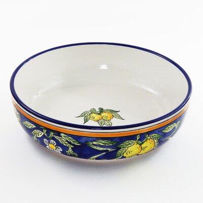 Le Souk Ceramique Citronique Design Salad / Pasta Bowl
