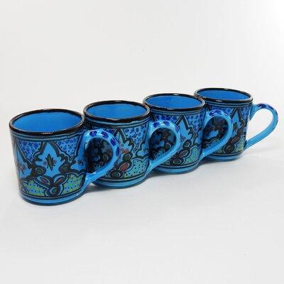 Le Souk Ceramique Sabrine Design 12 oz. Coffee Mug