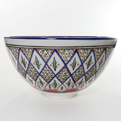 Le Souk Ceramique Tabarka Design Salad Bowl