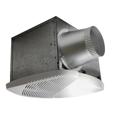 NuVent High Efficiency Bathroom Fan with Light by Nuvent