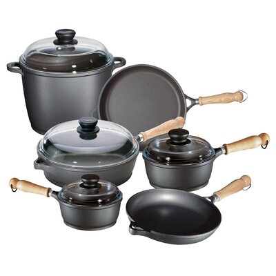 Tradition 10-Piece Cookware Set by Berndes