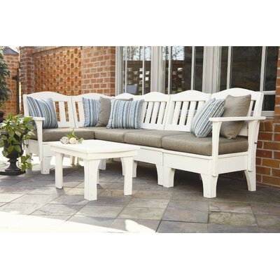 Uwharrie Chair Westport 6 Piece Deep Seating Group with cushions