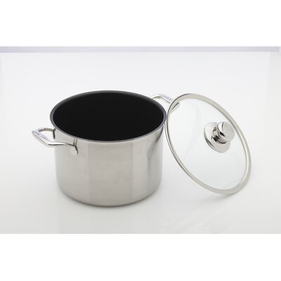Prestige 8.1-qt. Stock Pot with Lid by Swiss Diamond