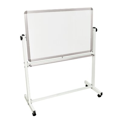 Luxor Mobile Magnetic Reversible Whiteboard, 2' x 3'