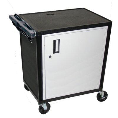 Luxor LP Series AV Cart with Locking Table