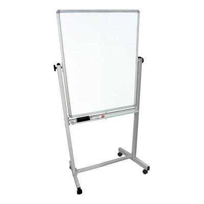Luxor Mobile Magnetic Reversible Whiteboard, 6' x 3'