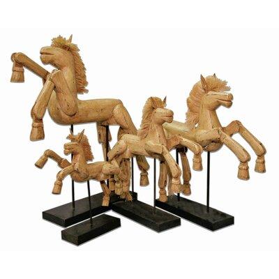 Hinged Horse Figurine by Groovystuff