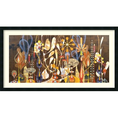 Amanti Art 'Megalaria' by Rex Ray Framed Graphic Art