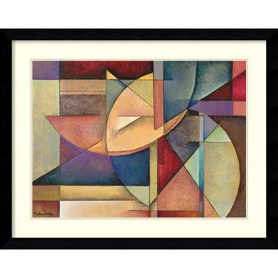 Amanti Art 'Sections of My Destiny' by Marlene Healey Framed Graphic Art
