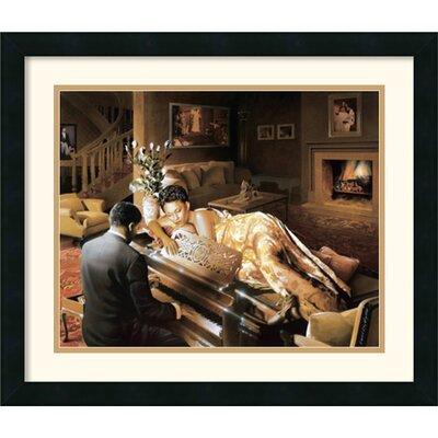 Amanti Art 'Sonata' by Edward Clay Wright Framed Painting Print