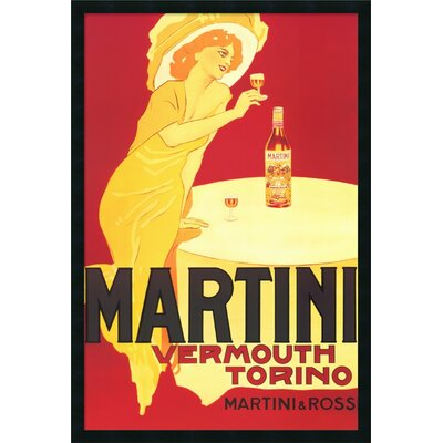 Amanti Art Martini - Vermouth Torino Framed Vintage Advertisement
