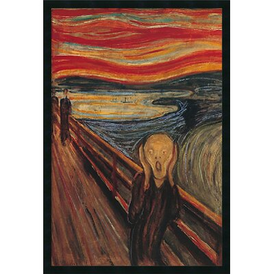 The Scream Canvas Art by Edvard Munch by Amanti Art