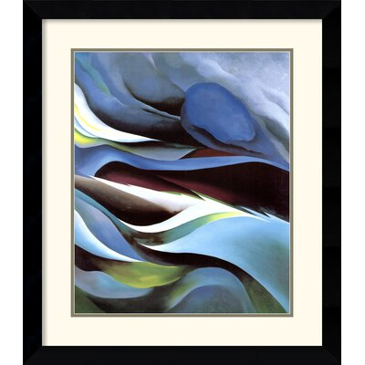 Amanti Art 'From the Lake No. 1' by Georgia O'Keeffe Framed Painting Print