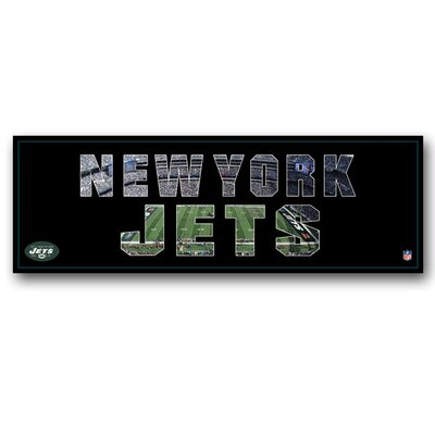 Artissimo Designs NFL Team Pride Textual Art on Canvas
