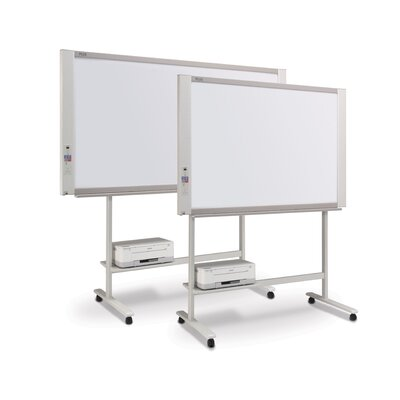 Plus Boards 2 Panel Electronic Copyboard Free-Standing Interactive Whiteboard