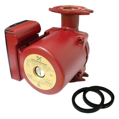 1/6 HP 115 V 3-Speed Bronze Super Brute Circulator Pump by Grundfos