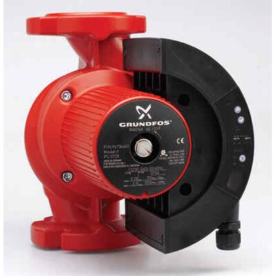 3/4 HP 230V 3-Speed Cast Iron Recirculation Pump by Grundfos