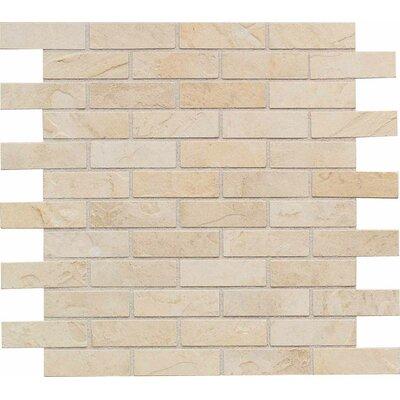 "American Olean Highland Ridge 1"" x 3"" Porcelain Mosaic Tile in Desert"